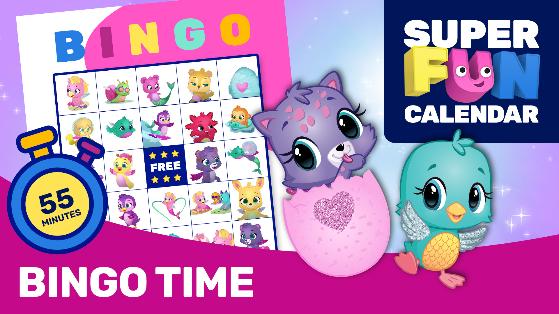 Hatchimals Bingo